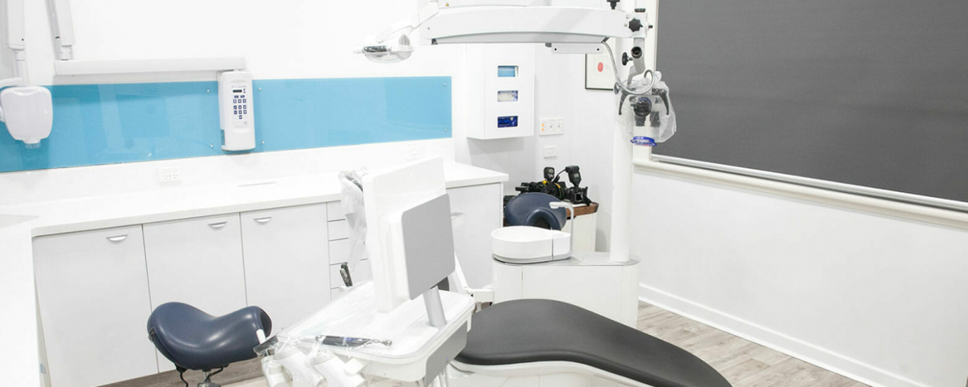 Dentist office and operating chair